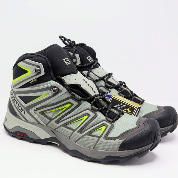 promo code fecf6 ee82e Mens Salomon X Ultra 3 Mid GTX Trail Hiking Boots NWT